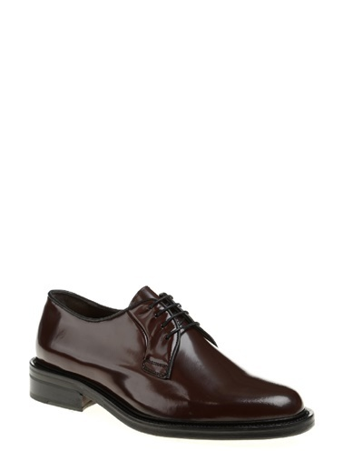 George Hogg %100 Deri Bağcıklı Klasik Ayakkabı Bordo